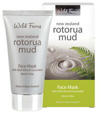 New Wild Ferns Rotorua Mud Face Mask with Aloe Vera & Cucumber 80ml