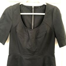 dolce gabbana black dress Medium  Denim Stretch Fabric