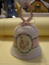 """Vintage Enesco Precious Moments Porcelain Bell """"Tell me The Story of Jesus"""" 1991"""