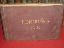 [CONSTANT ROUSSEL / ECOLE DE ROUEN  IMPRESSIONNISME] ALBUM 25 PHOTOGRAPHIES 1895