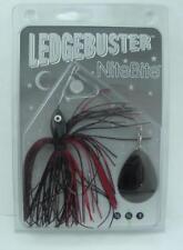 Strikezone LB034-N3 Ledgebuster Night Bite Spinner Bait Black Cherry 21840