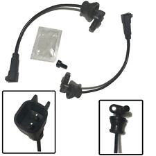2 X Rear ABS Wheel Speed Sensor Left Right for Chevrolet Equinox GMC 23348259