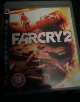 Far Cry 2 Sony Playstation 3 PS3 Game UK PAL Farcry