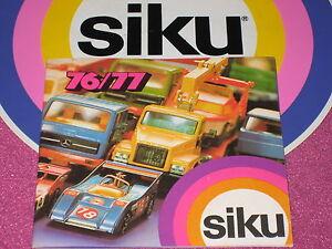 siku Prospekt-Katalog 1976/1977
