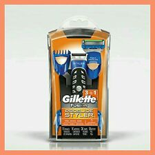 Gillette Fusion ProGlide Styler 3-in-1 Razor Beard Trimmer Edging Blade FREE P&P