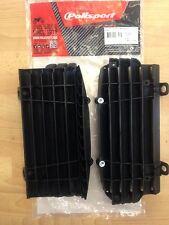 KTM SX 125 150 250 2016 Polisport Persiana del radiador Rad Negro