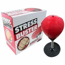 Desktop Punching Bag Stress Buster Suction Cup Stress Relief Ball with Pump