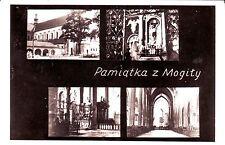 Poland Krakow - Pamiatka Opactwo Cystersow w Mogile ul. Klasztorna 11 postcard