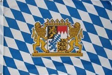 3' x 2' Bavaria Crest Flag Bavarian Lions Beer Festival German Germany Banner