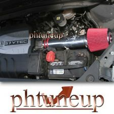 RED 2007-2013 ACURA MDX 3.7 3.7L V6 AIR INTAKE KIT INDUCTION SYSTEMS + FILTER