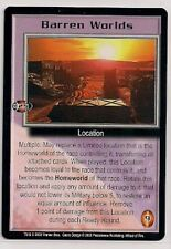 Babylon 5 Ccg Wheel of Fire Rare Barren Worlds Nm