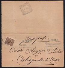 STORIA POSTALE Regno 1907 Stampe da Sommacampagna a Colognola ai Colli (FILP)