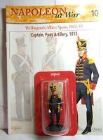 DEL PRADO NAPOLEON AT WAR 10: CAPTAIN, SPANISH FOOT ARTILLERY, 1812 - SEALED