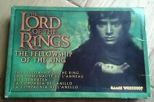LOTR Warhammer Fellowship of the Ring Metal Slotta Miniatures Box Set Superb