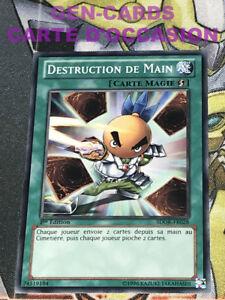 OCCASION Carte Yu Gi Oh DESTRUCTION DE MAIN SDOK-FR028 1ère édition