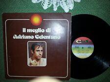 IL MEGLIO DI ADRIANO CELENTANO   DISCO 33 GIRI LP
