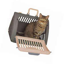 SportPet Designs Travel Cat Carrier Front Door Plastic Collapsible