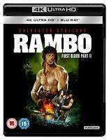 Rambo: First Blood Part II 4K [Blu-ray] [2018] [DVD][Region 2]