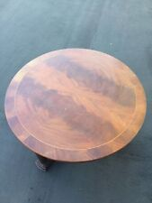 Baker Furniture Round Wooden Coffee Table