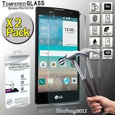 2 Pack Genuine Tempered Glass Film Screen Protector For LG Escape 2