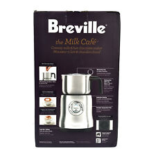 Breville BMF600XL Milk Cafe Hot Chocolate Milk Frother Stainless Steel