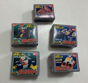 Voltes V CPA Popy Gashapon Complete 5 pcs Set Chogokin Shogun Warriors