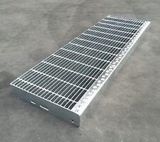gradini da 120 cm grigliato zincato gradino scale acciaio scalino antiscivolo