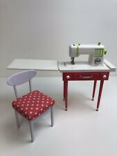 Fits OG Or American Girl Doll For 18 Inch Doll. Sewing Table And Machine 🇬🇧