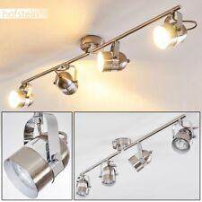 Plafonnier Lampe à suspension Lustre Lampe de séjour 4 spots plafond Luminaire