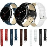 For Huawei Watch GT 2 Pro Strap Crocodile Leather Watch Band