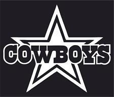 NFL Dallas Cowboys Car or Truck Window Vinyl Sticker