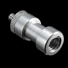 "Pro 1/4"" 3/8"" Tripod screw Mount Bracket Holder Camera convert Spigot Ukqq D6E4"