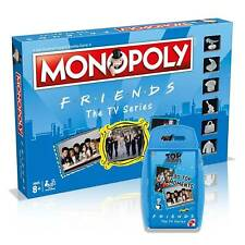 FRIENDS TV Show Games Bundle Monopoly Board Game & Top Trumps Card Game