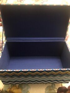 """New Missoni For Target Limited Edition Card Box 11"""" L x 6"""" W x 5"""" H"""