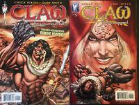 CLAW THE UNCONQUED. NO. 1 & 5. (2 ISSUE LOT). WILDSTORM/DC COMICS. CHUCK DIXON