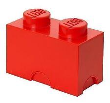 Lego Aufbewahrungsschachtel rot 2 Ziegel Spielzeug Aufbewahrung Kinder Möbel