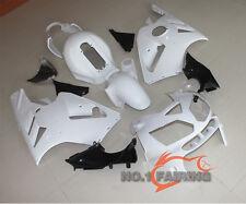 New ABS Fairings Kit Bodywork for KAWASAKI NINJA ZX12R 2002-2005 White Unpainted