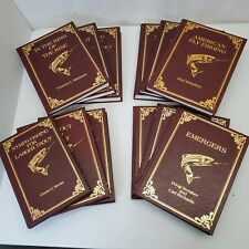 Trout / Flyfishing Library Lyons & Burford Limited Edition 12 volumes set signed
