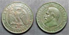 Napoléon III, 10 centimes 1856 W , TB à TTB