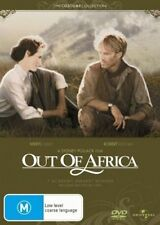 OUT OF AFRICA (1985) - BRAND NEW & SEALED R4 DVD (ROBERT REDFORD, MERYL STREEP)