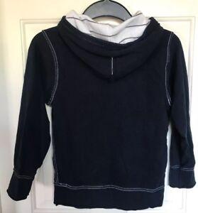 TCP The Children's Place Boys Navy Jacket Hoody Sweatshirt - Sz 5