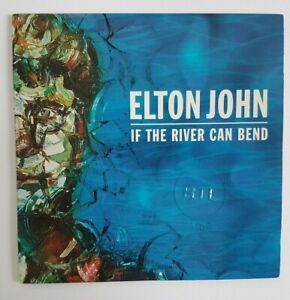 ELTON JOHN : IF THE RIVER CAN BEND ♦ Rare French Promo CD ♦