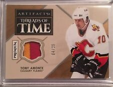 18/19 ARTIFACTS - TONY AMONTE - #4/25 - THREADS OF TIME PATCH - UPPER DECK - UD