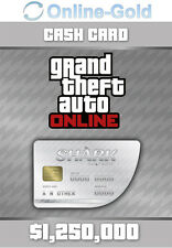 1250k $grand theft auto Online Cashcard le requin/great white shark gta v pc
