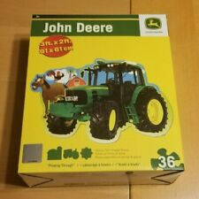 John Deere  2FT (51cm) x 3Ft (91cm) Floor Puzzle - Plowing Through  - Tractor