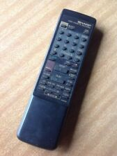 GENUINE REMOTE CONTROL Sharp Video VCR Player G1040GE tested Working
