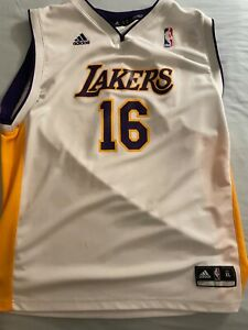 pau gasol lakers jersey in good condition