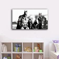 60×100×3cm Batman Catwoman Framed Canvas Print Wall Art Home Decor Painting Gift