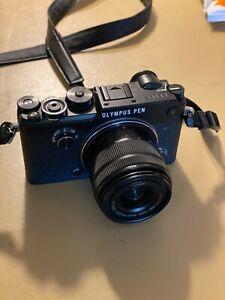 Olympus PEN-F Mirrorless Micro Digital Camera W/Panasonic14-42 mm F3.5 - 5.6