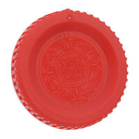 Fotodiox Replacement Body Cap (Red) Compatible with Nikon F Mount Cameras